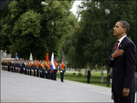 Встреча Обамы и Медведева в Москве (фоторепортаж)