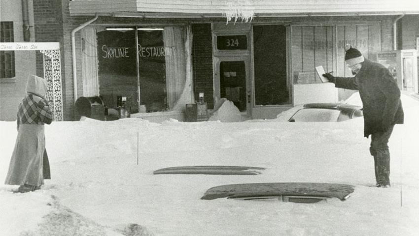 Эту бурю прозвали «Восточно-канадская метель 71-го». Снегопад сопровождался сильнейшим ветром, котор