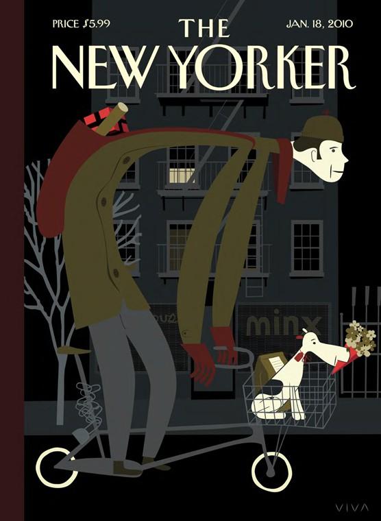 Канадский графический дизайнер ©Frank Viva. Детские книги и обложки взрослых журналов