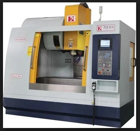 Vertical milling machine CNC