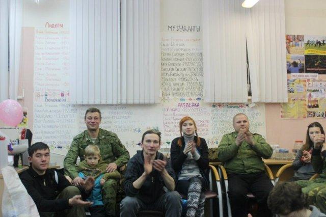 Слет молодежных патриотических клубов в рамках XVIII фестиваля солдатской песни в Оленегорске
