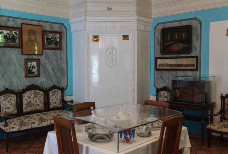 Гостиная, музей Чкалова