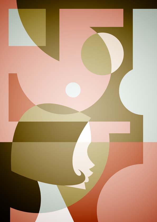 Мини-ретро-постеры. Знакомые лица в плакатах ©Stanley Chow