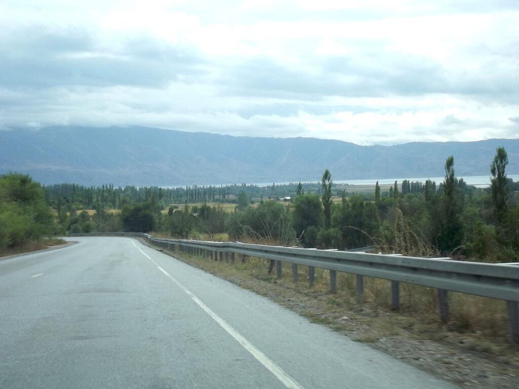 Дорога Бишкек - Ош