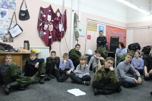 Слет молодежных патриотических клубов в рамках XVIII оленегорского фестиваля солдатской песни