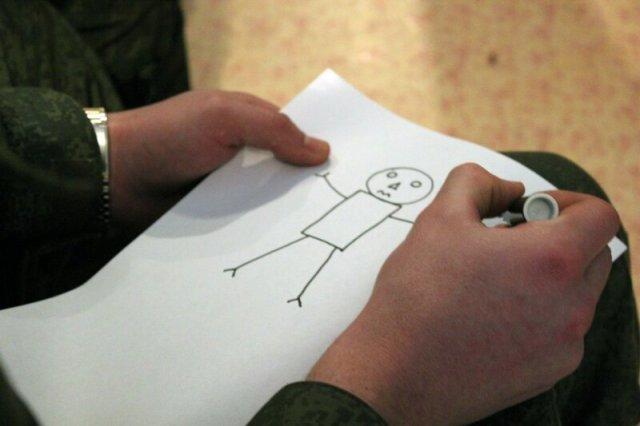Творческая лаборатория ОДД в воинской части
