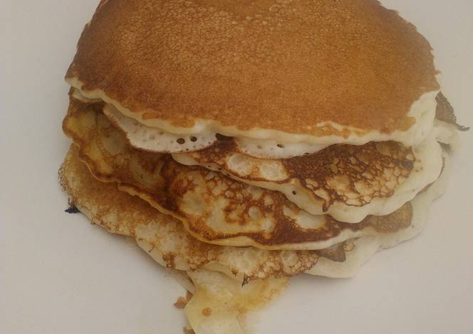 How to make pancakes without baking powder and milk nemetas pancakes without milk or baking powder quick easy ccuart Gallery