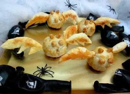 Receta de murciélagos de carne para Halloween