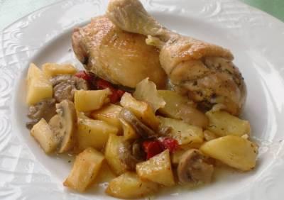 Receta de pollo al horno con cerveza y limón