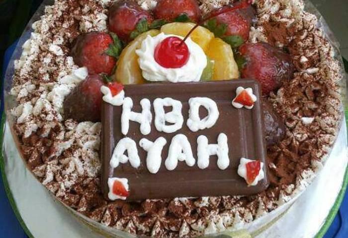Resep Tiramisu Egg Drops Bday Cake Gampil Surampilhemat Suremat