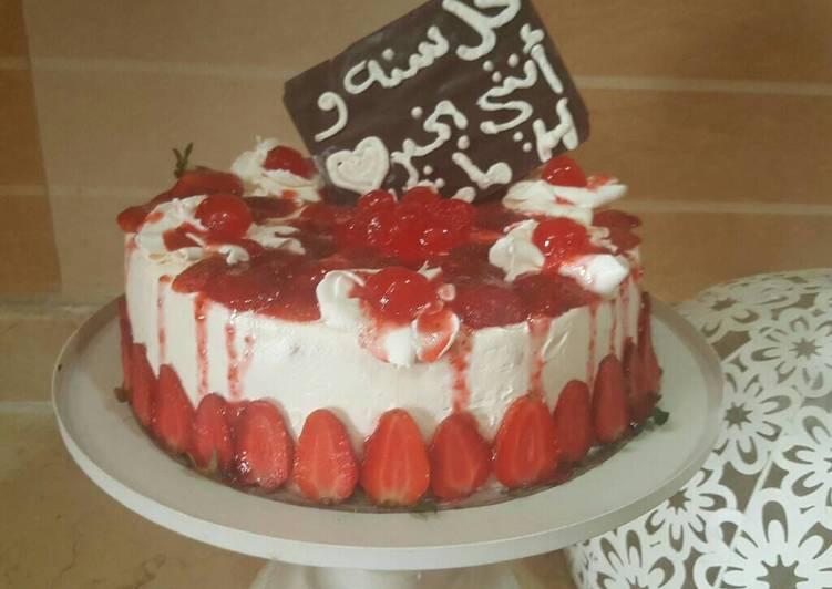 تورتة عيد ميلاد بالصور من ماريا مصطفى كوكباد