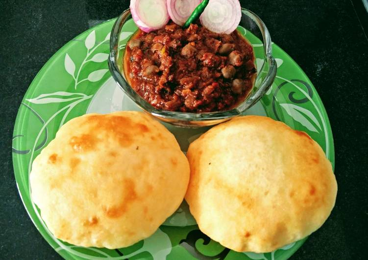 Image result for chhola bhatura