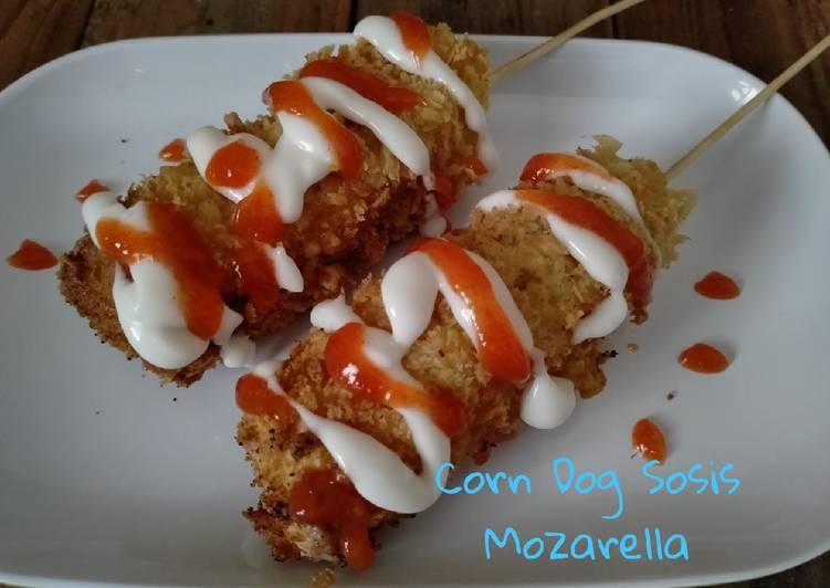 Corn dog Sosis Mozarella