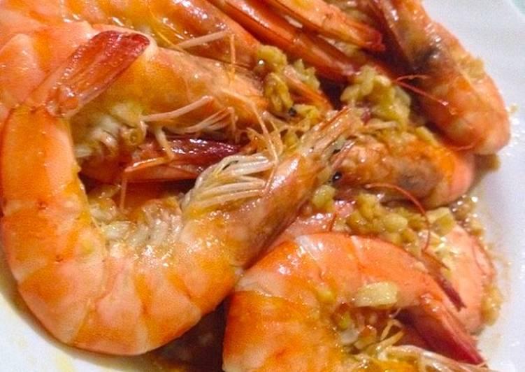 Garlic Butter Shrimps LCHF : Keto