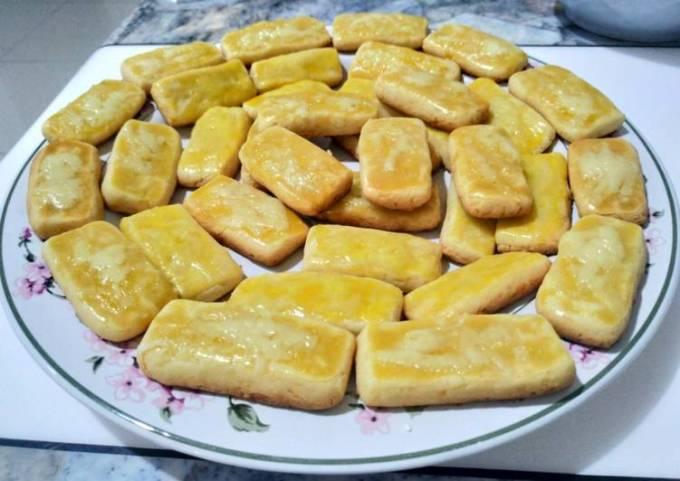 Pan Baked Cheese Cookies