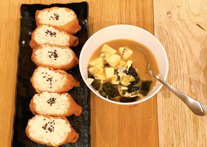 Seaweed, Egg & Tofu Miso soup