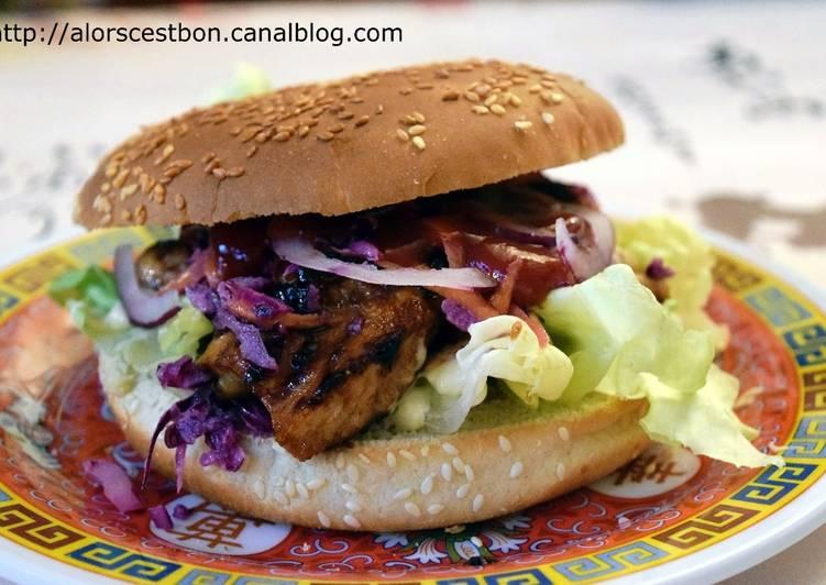 Burger d'inspiration Japonaise