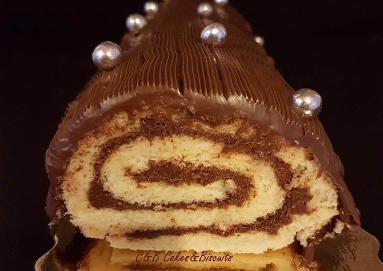 La Bûche Roulée au Nutella
