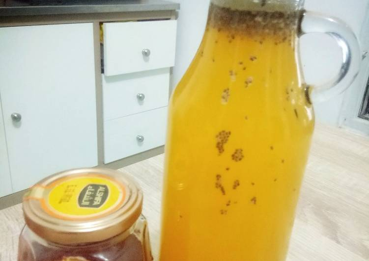 Jeruk madu (menu diet)