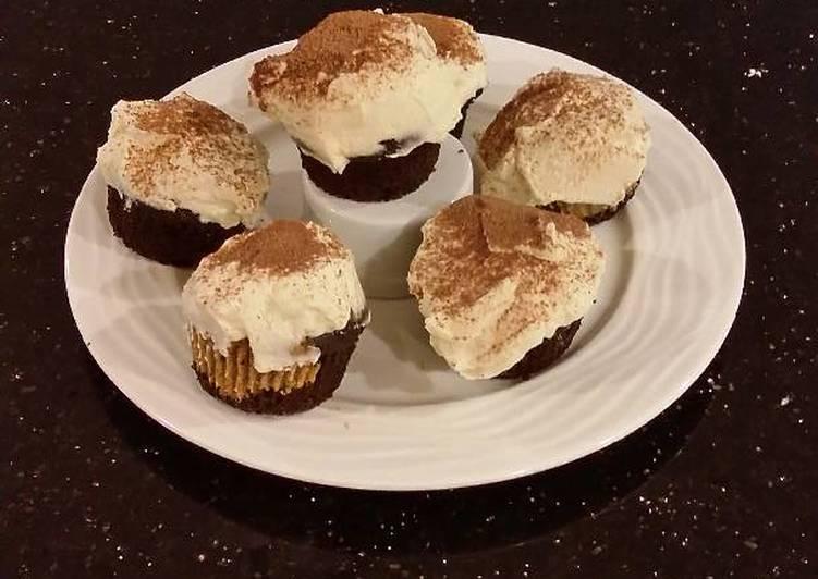 Tiramisu Inspired Cupcakes