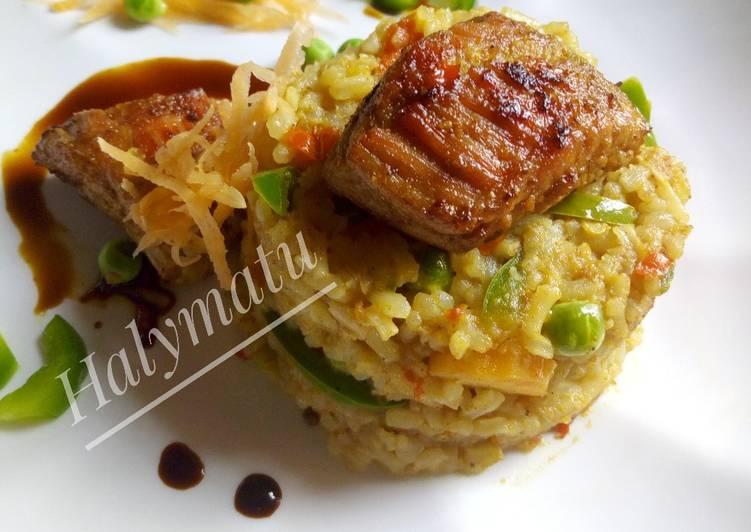Short grain fried rice