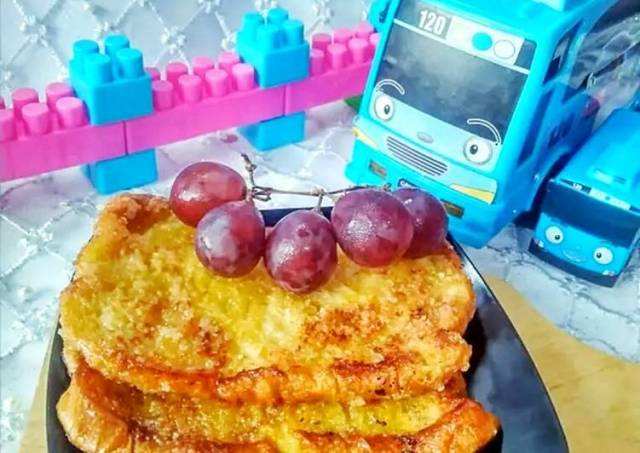 Roti Telur Panggang Simple