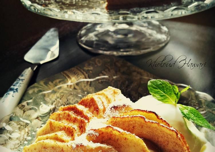 Apple Cake Bread