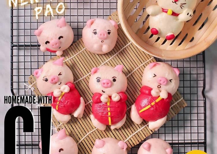 Homemade Ba Pao Kawaii