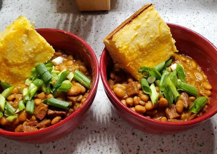 Lauren's Pinto Beans and Ham