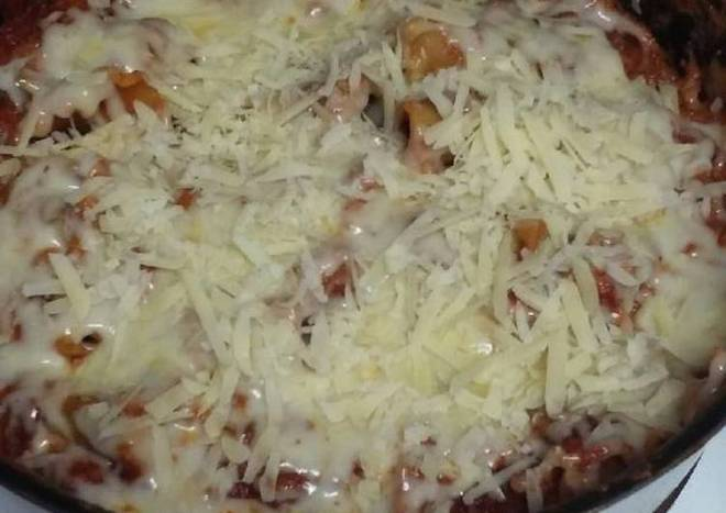Skillet Veggie Lasagna