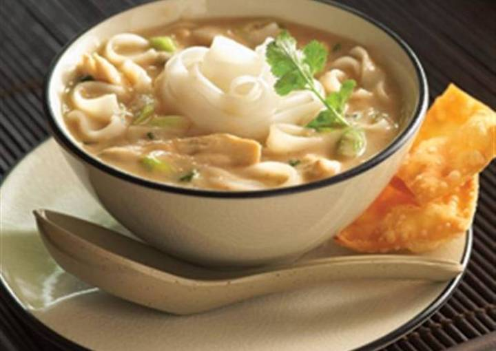 Asian Peanut Chicken Soup