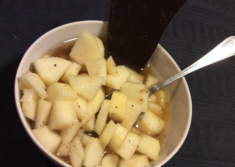 Salade de Poire aux Épices de mes voyages