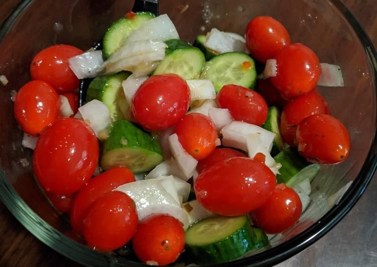 Cucumber Salad #mommasrecipes