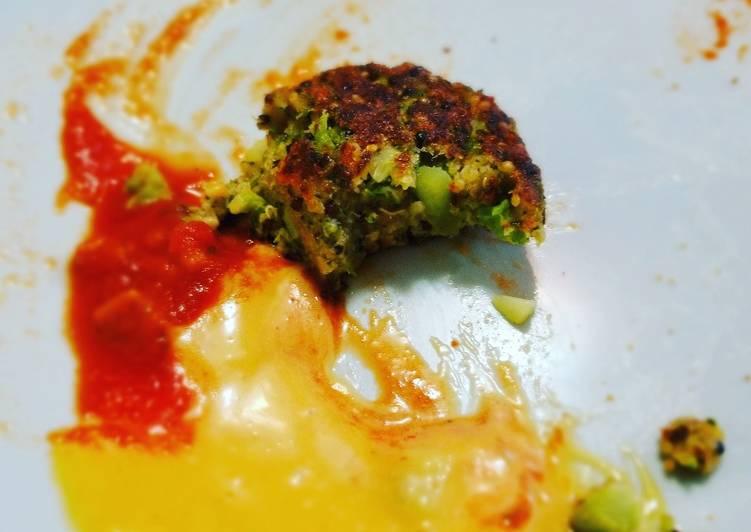 Cheesy Broccoli Quinoa Fritters