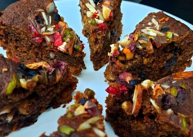 Healthy Plum Cake