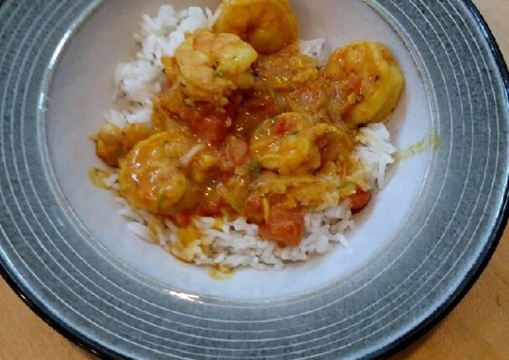 Krazy Kurland Coconut Shrimp Curry