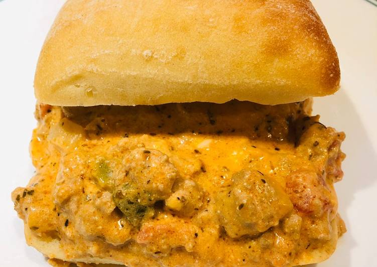 Creamy Ground Turkey 🦃 Sloppy Joe