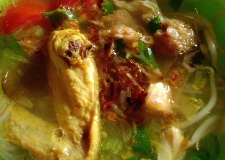 Judul Soto Ayam Bening