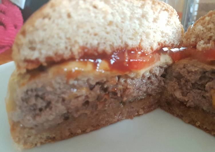 Trojan-Horse Almost-Turkey Burgers