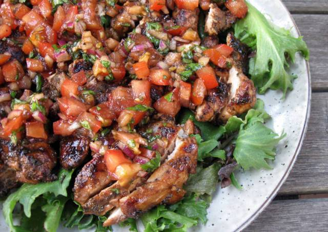 Balsamic Marinated Chicken Thigh