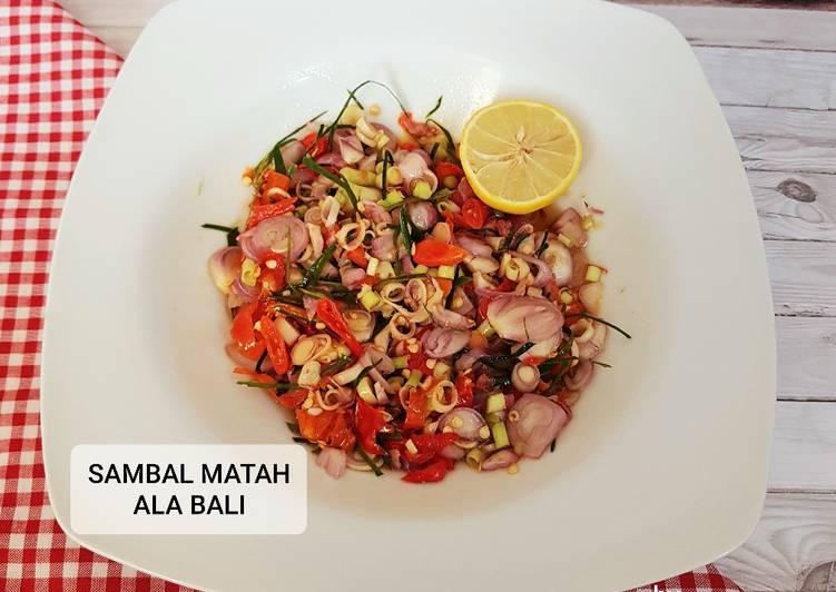 Sambal Matah Ala Bali