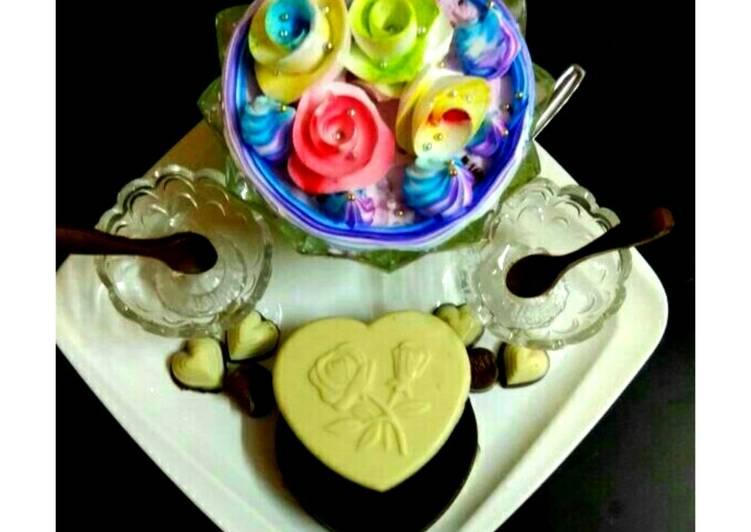 Fruit exotica pudding