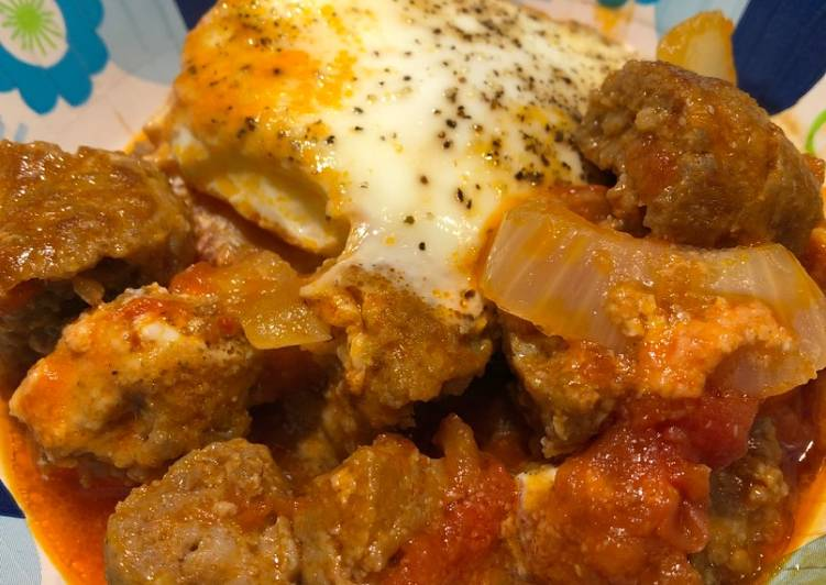 Spicy Eggs in Purgatory