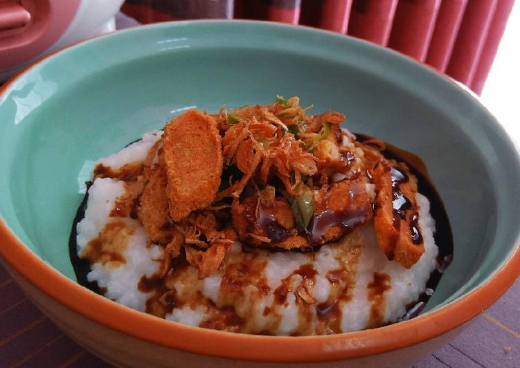 Bubur Ayam Ricecooker