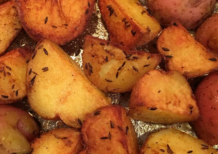 Indian -Style Potatoes