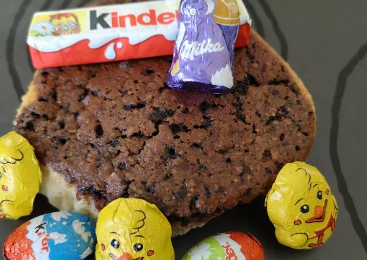 Muffins noisette miel et choco