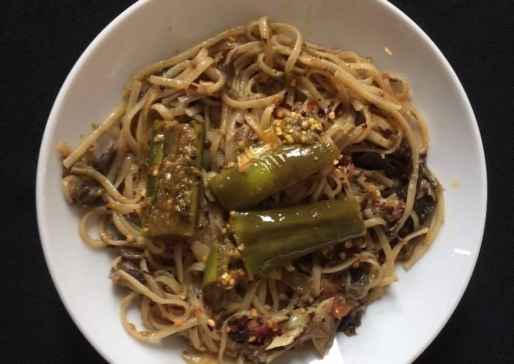 Thai Eggplant - spicy dish