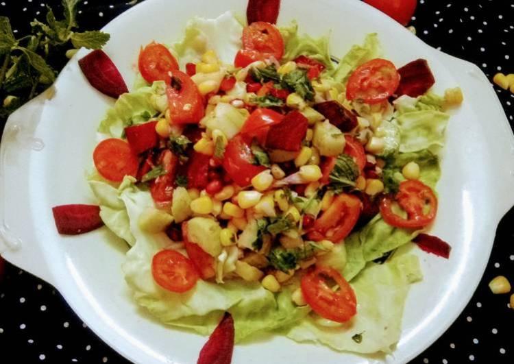 Healthy Dish - Vegetable Salad