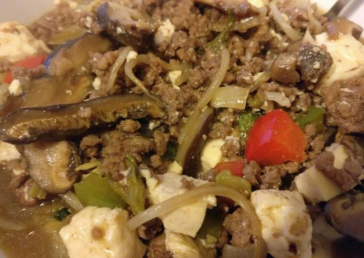 Non-spicy Mapo Tofu