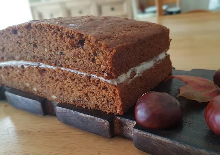 Carrot-Apple-cinnamon eggless cake